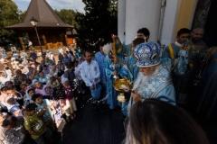 В праздник Успения Божией Матери управляющий Восточным викариатством совершил Литургию в «Косинской Лавре»