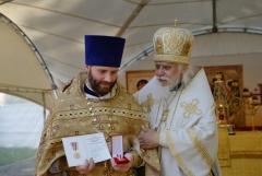 Празднование 300-летия освящения храма Спаса Нерукотворного Образа в Перово
