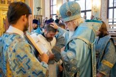 Владыка Пантелеимон совершил диаконскую хиротонию Романа Шелухина