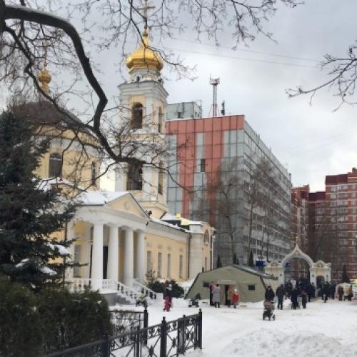 Праздник Крещения в Гольянове