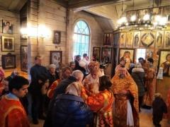 День св. Екатерины в храме святого Владимира в Перове